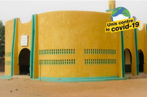 Article : Covid-19 au Niger : Réouverture des mosquées et gestes barrières